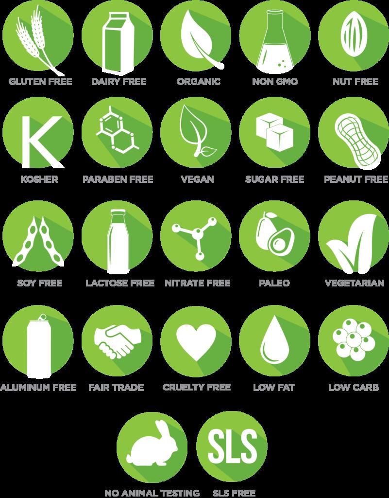22 DIET & LIFESTYLE ATTRIBUTES